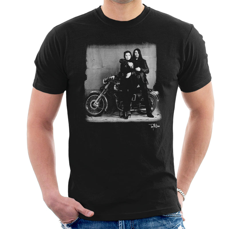 Ian Astbury And Renee Beach Motorbike Men's T-Shirt - Don't Talk To Me About Heroes