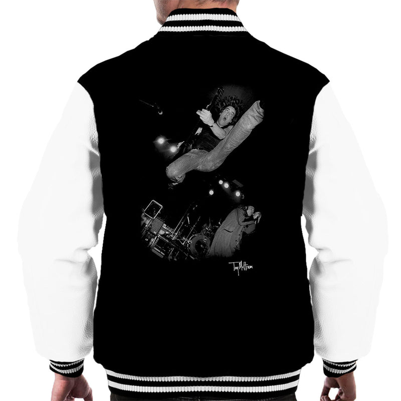 Jason And The Scorchers Scorched Earth Book Cover Men's Varsity Jacket - Don't Talk To Me About Heroes