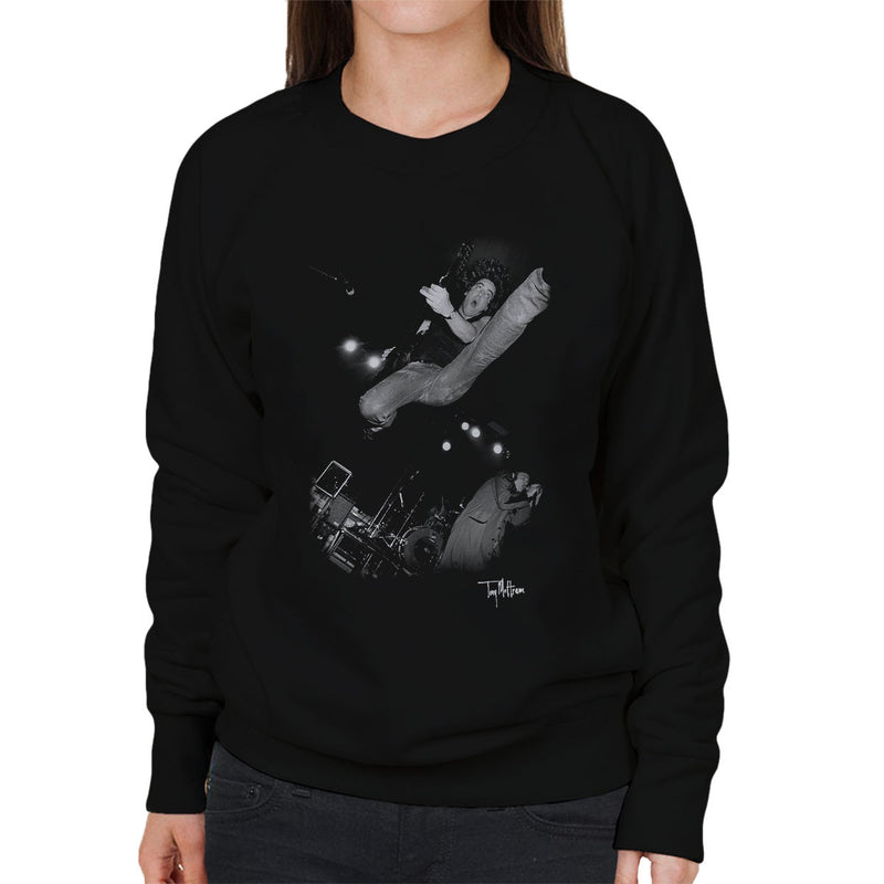 Jason And The Scorchers Scorched Earth Book Cover Women's Sweatshirt - Don't Talk To Me About Heroes