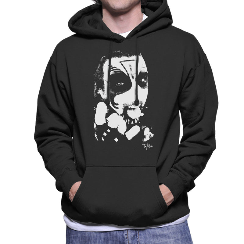 King Diamond Devil Horns Men's Hooded Sweatshirt - Don't Talk To Me About Heroes