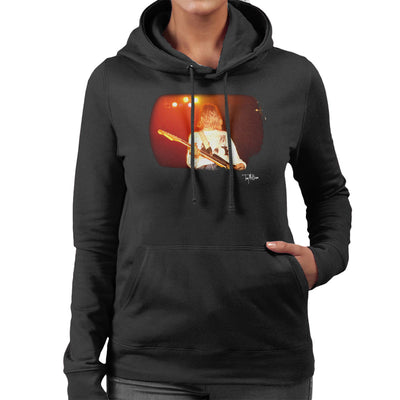 Kurt Cobain Singing Live Guitar Women's Hooded Sweatshirt