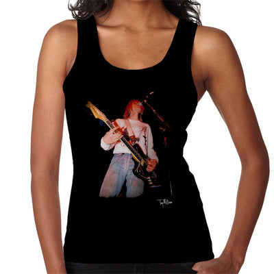 Kurt Cobain Playing Live Guitar Women's Vest - Don't Talk To Me About Heroes