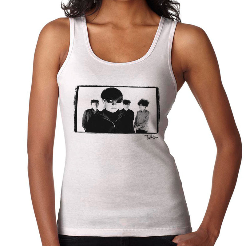 Jesus And Mary Chain Band Shot Women's Vest - Don't Talk To Me About Heroes
