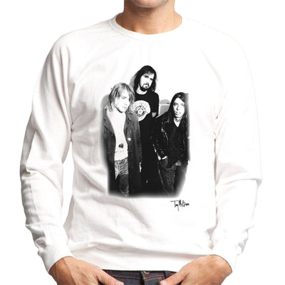 Nirvana Kurt Dave And Krist Men's Sweatshirt - Don't Talk To Me About Heroes
