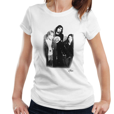 Nirvana Kurt Dave And Krist Women's T-Shirt - Don't Talk To Me About Heroes