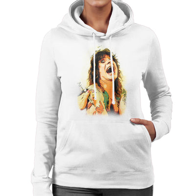 Ozzy Osbourne Getting A Tattoo Women's Hooded Sweatshirt - Don't Talk To Me About Heroes
