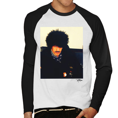 Thin Lizzy Phil Lynott Men's Baseball Long Sleeved T-Shirt