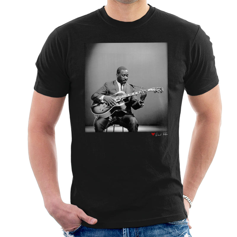 Wes Montgomery Playing Guitar 1964 Men's T-Shirt