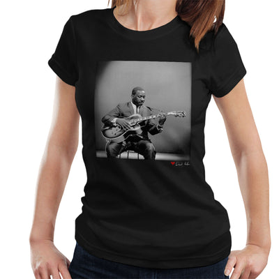 Wes Montgomery Playing Guitar 1964 Women's T-Shirt - Don't Talk To Me About Heroes