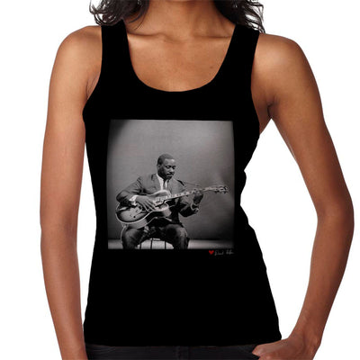 Wes Montgomery Playing Guitar 1964 Women's Vest