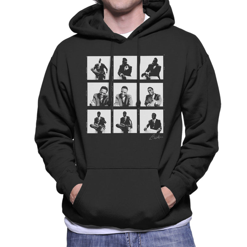 Al Green Contact Sheet Men's Hooded Sweatshirt