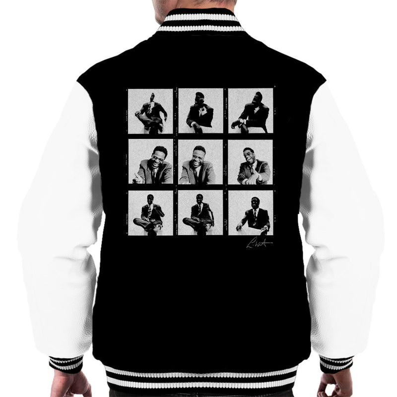 Al Green Contact Sheet Men's Varsity Jacket - Don't Talk To Me About Heroes