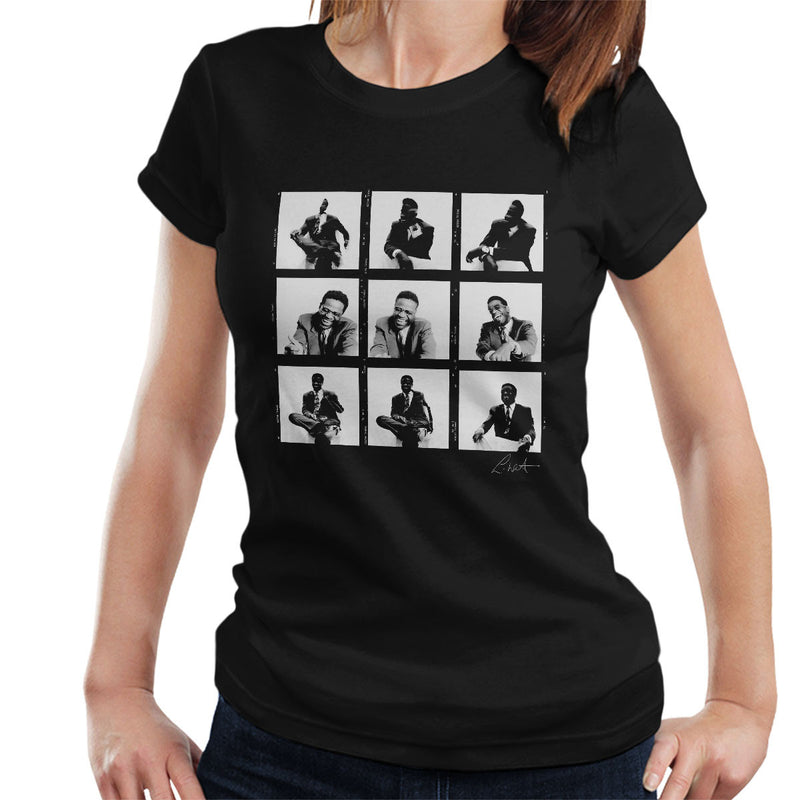 Al Green Contact Sheet Women's T-Shirt - Don't Talk To Me About Heroes
