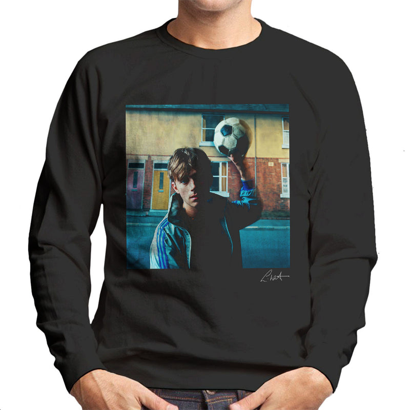 Damon Albarn Of Blur In London 1995 Men's Sweatshirt