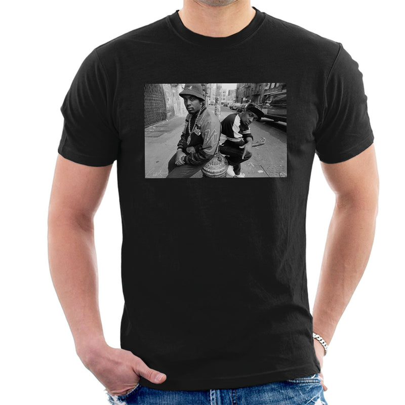 Eric B And Chuck D On The Streets Of New York 1980s Men's T-Shirt