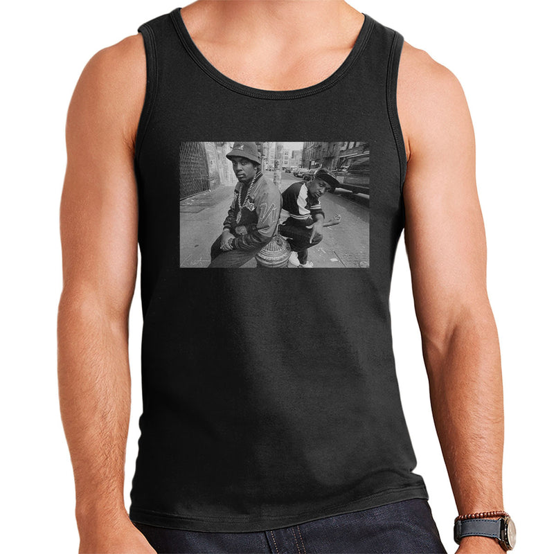 Eric B And Chuck D On The Streets Of New York 1980s Men's Vest - Don't Talk To Me About Heroes