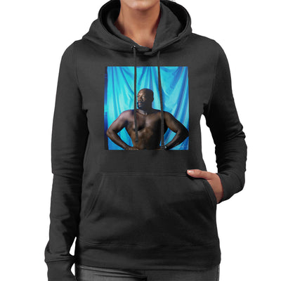 Isaac Hayes Topless Women's Hooded Sweatshirt - Don't Talk To Me About Heroes