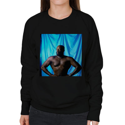 Isaac Hayes Topless Women's Sweatshirt - Don't Talk To Me About Heroes