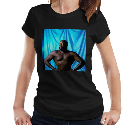 Isaac Hayes Topless Women's T-Shirt - Don't Talk To Me About Heroes