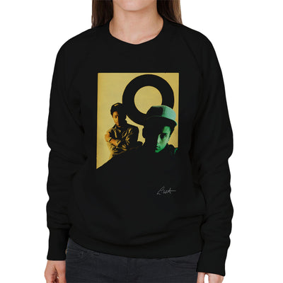 Matronix Group Photo Women's Sweatshirt - Don't Talk To Me About Heroes