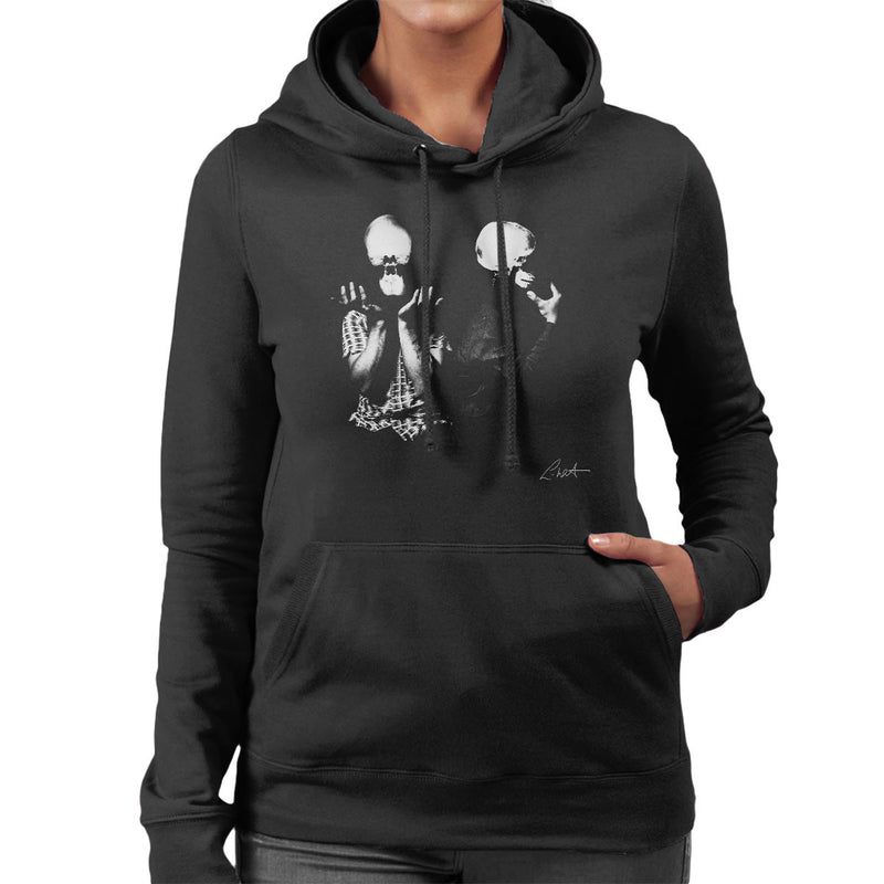 Orbital Skull X Ray Heads Women's Hooded Sweatshirt - Don't Talk To Me About Heroes