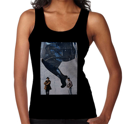 Run DMC In Front Of Woman Wall Mural Women's Vest - Don't Talk To Me About Heroes