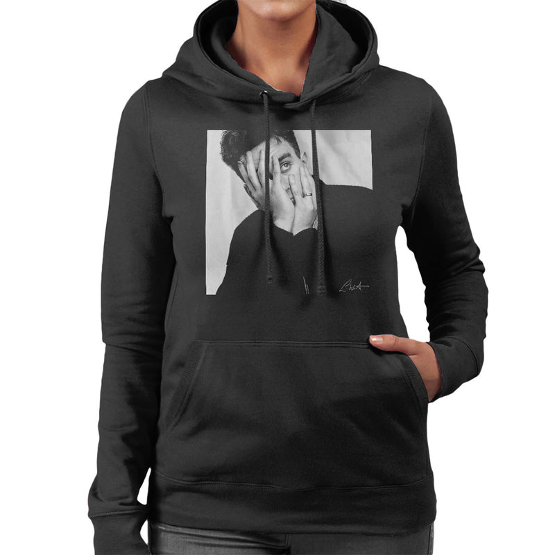 Terry Hall Of The Specials Women's Hooded Sweatshirt