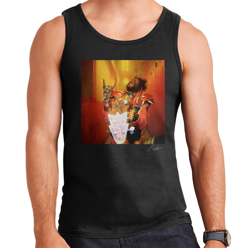 George Clinton And Parliament Funkadelic Devil Horns Men's Vest - Don't Talk To Me About Heroes