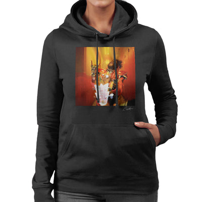 George Clinton And Parliament Funkadelic Devil Horns Women's Hooded Sweatshirt - Don't Talk To Me About Heroes