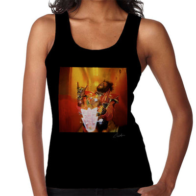 George Clinton And Parliament Funkadelic Devil Horns Women's Vest - Don't Talk To Me About Heroes