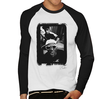 Public Enemy Flavor Flav Sunglasses Men's Baseball Long Sleeved T-Shirt - Don't Talk To Me About Heroes