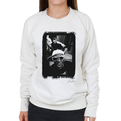 Public Enemy Flavor Flav Sunglasses Women's Sweatshirt - Don't Talk To Me About Heroes