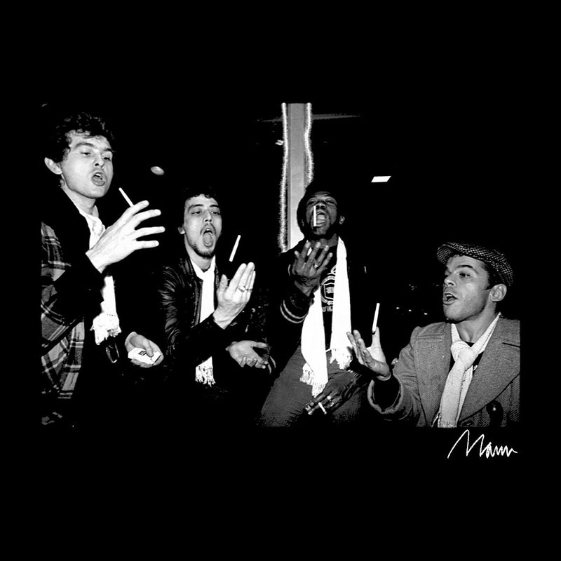 Ian Dury And The Blockheads Throwing Cigarettes