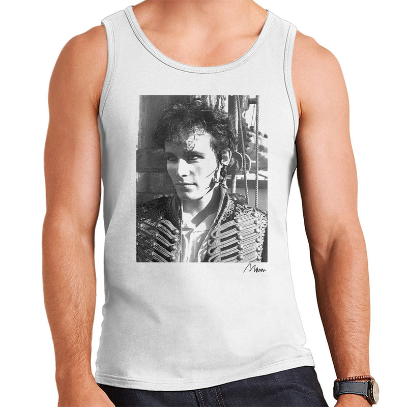 Adam Ant Prince Charming Close Up Men's Vest - Don't Talk To Me About Heroes