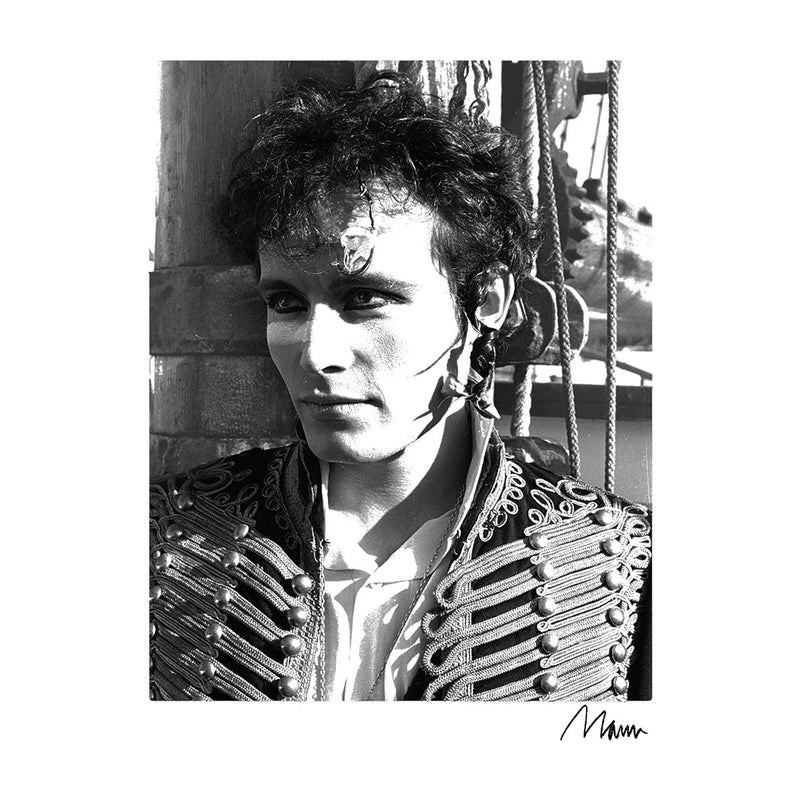 Adam Ant Prince Charming Close Up