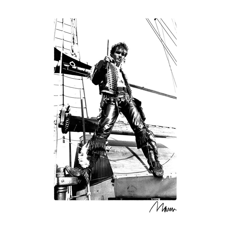 Adam Ant Prince Charming On A Ship Men's T-Shirt - Don't Talk To Me About Heroes