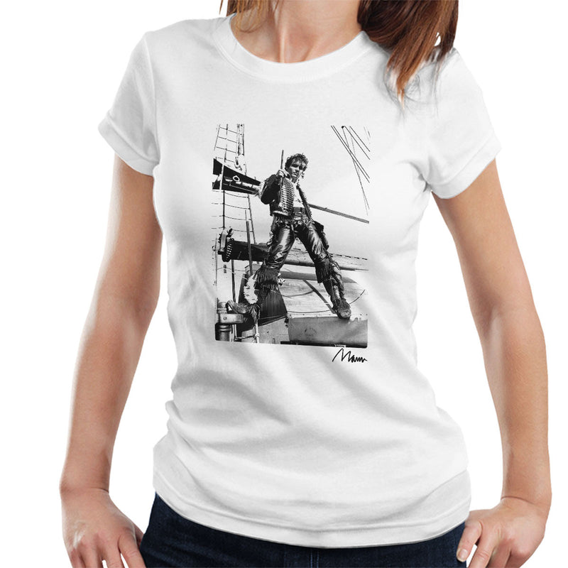 Adam Ant Prince Charming On A Ship Women's T-Shirt - Don't Talk To Me About Heroes