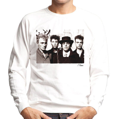 Killing Joke Young Band Photo Men's Sweatshirt - Don't Talk To Me About Heroes