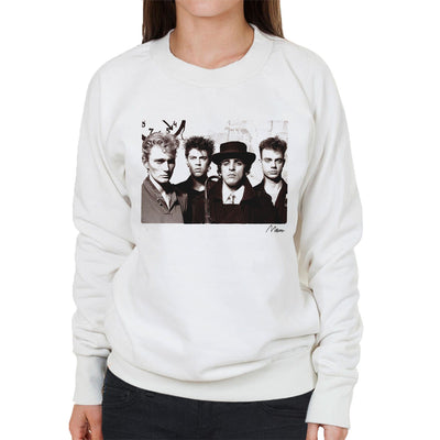 Killing Joke Young Band Photo Women's Sweatshirt - Don't Talk To Me About Heroes