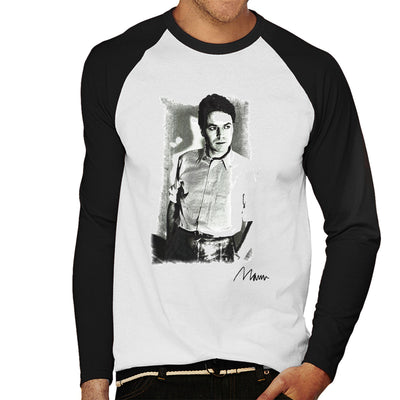 Robert Palmer Photo Men's Baseball Long Sleeved T-Shirt - Don't Talk To Me About Heroes