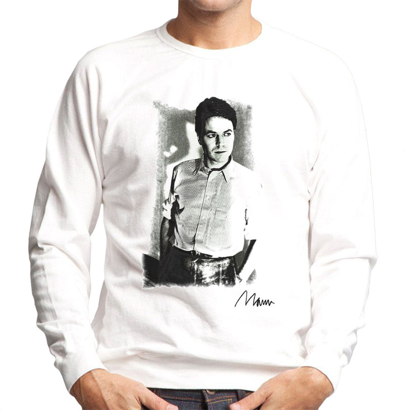 Robert Palmer Photo Men's Sweatshirt - Don't Talk To Me About Heroes