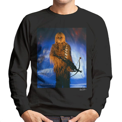 Star Wars Behind The Scenes Chewbacca Men's Sweatshirt - Don't Talk To Me About Heroes
