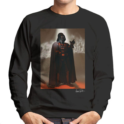 Star Wars Behind The Scenes Darth Vader Men's Sweatshirt - Don't Talk To Me About Heroes