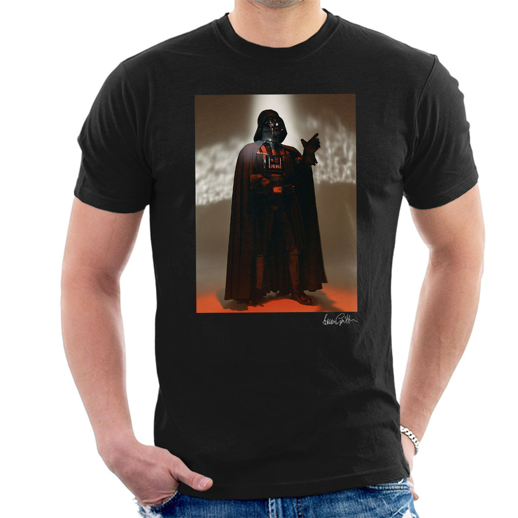 Star Wars Behind The Scenes Darth Vader Men's T-Shirt