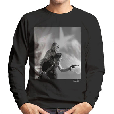 Star Wars Behind The Scenes Chewbacca And Han Solo Men's Sweatshirt - Don't Talk To Me About Heroes