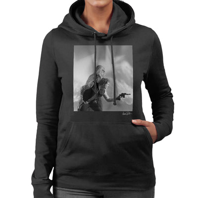 Star Wars Behind The Scenes Chewbacca And Han Solo Women's Hooded Sweatshirt - Don't Talk To Me About Heroes