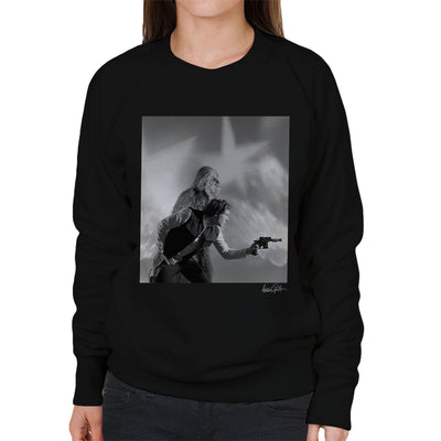 Star Wars Behind The Scenes Chewbacca And Han Solo Women's Sweatshirt - Don't Talk To Me About Heroes
