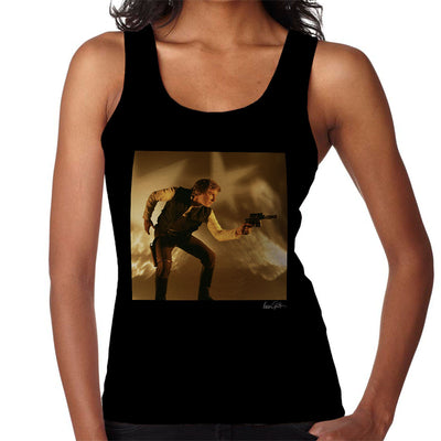 Star Wars Behind The Scenes Han Solo Gun Women's Vest - Don't Talk To Me About Heroes