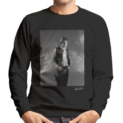 Star Wars Behind The Scenes Han Solo Men's Sweatshirt - Don't Talk To Me About Heroes