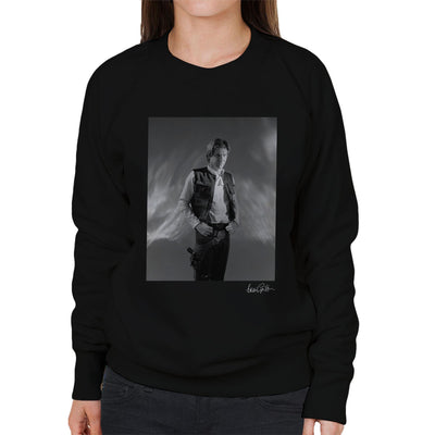 Star Wars Behind The Scenes Han Solo Women's Sweatshirt - Don't Talk To Me About Heroes